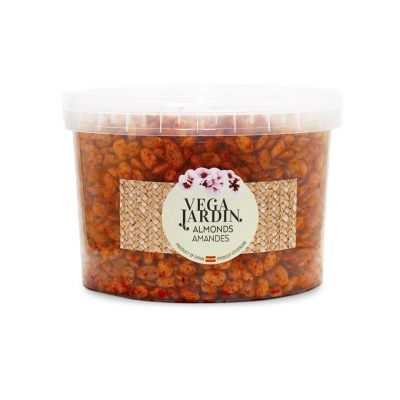 Valencia-Mandel geröstet mit scharfen Paprika 5 kg