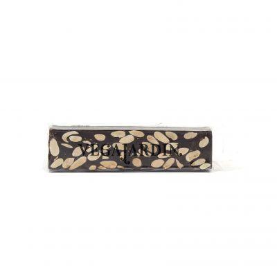 Turron mit purer Schokolade und Mandeln Tafel 150 g