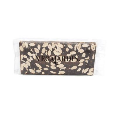Turron mit purer Schokolade und Mandeln 300 g