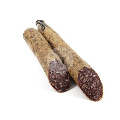 Iberico-Salchichon Cular geräuchert aus Eichelmast 1,2 Kg und 600 g