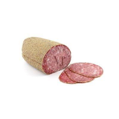 Salchichón Extra Gourmand mit Pfeffer 1,8 Kg Hälften
