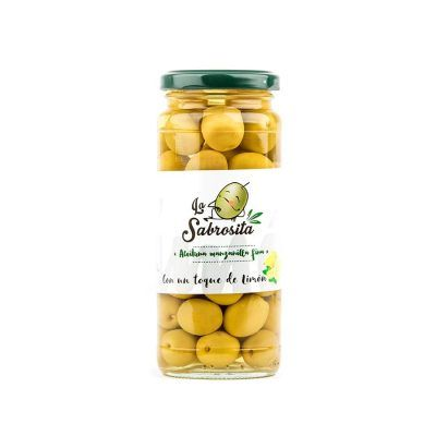 Manzanilla Oliven mit einem Hauch nach Zitrone 195 g
