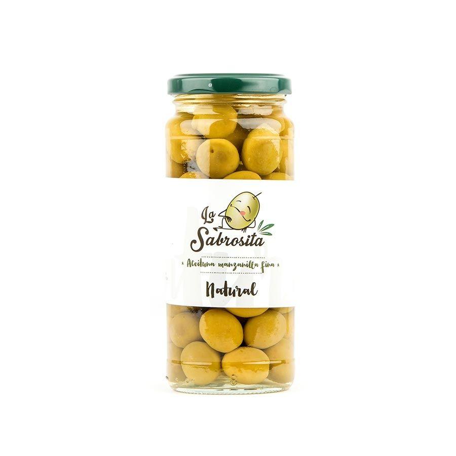 Manzanilla Oliven 195 g