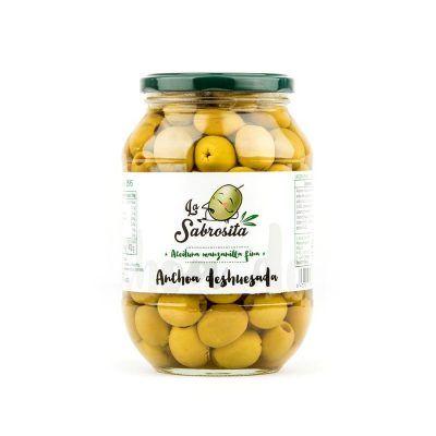 Manzanilla Oliven Entkernt Anchovis Geschmack 410 g