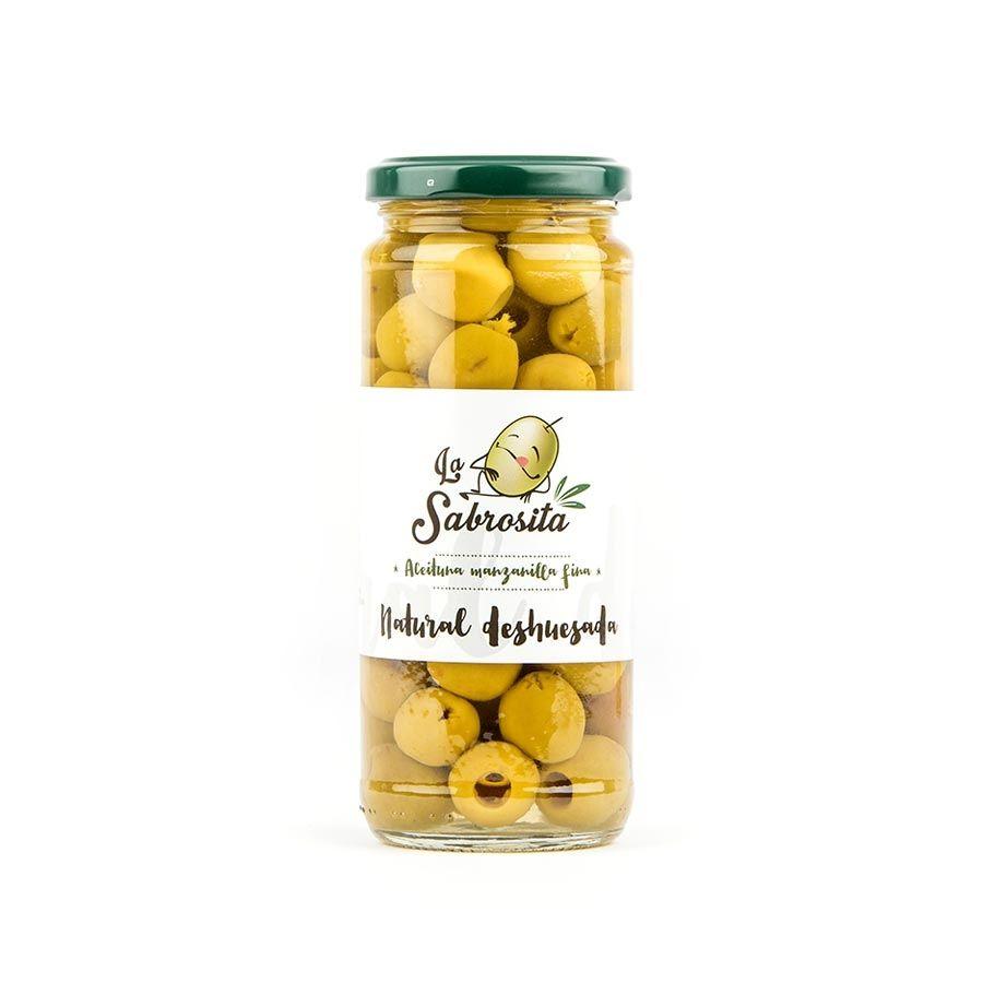 Manzanilla Oliven Entkernt 170 g