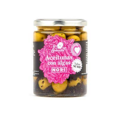 Manzanilla Oliven mit Nori Algen 190 g