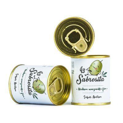 Manzanilla Oliven mit Anchovis Geschmack 50 g