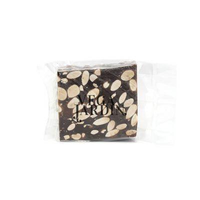 Turron am Stück mit purer Schokolade und Mandeln 150 g