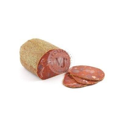 Chorizo Extra mit Pfeffer 2,3 Kg Hälften