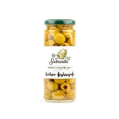Manzanilla Oliven Entkernt Anchovis Geschmack 170 g