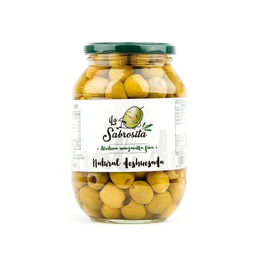 Manzanilla Oliven Entkernt 410 g