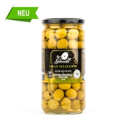 Manzanilla Oliven Entkernt IGP 325 g